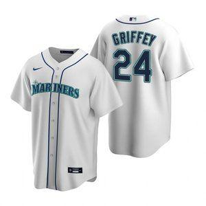 Youth Seattle Mariners #24 Ken Griffey Jr. Jersey